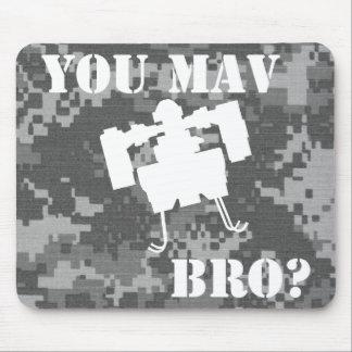 ¿Usted MAV Bro? Mousepad en Digitaces Camo