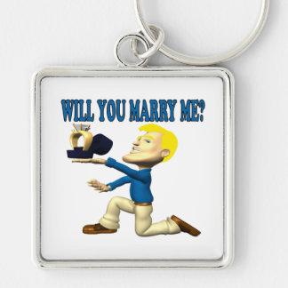 Usted me casará 10 llaveros personalizados