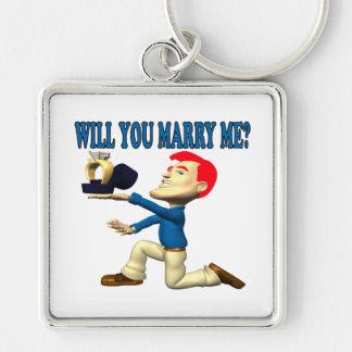 Usted me casará 12 llavero