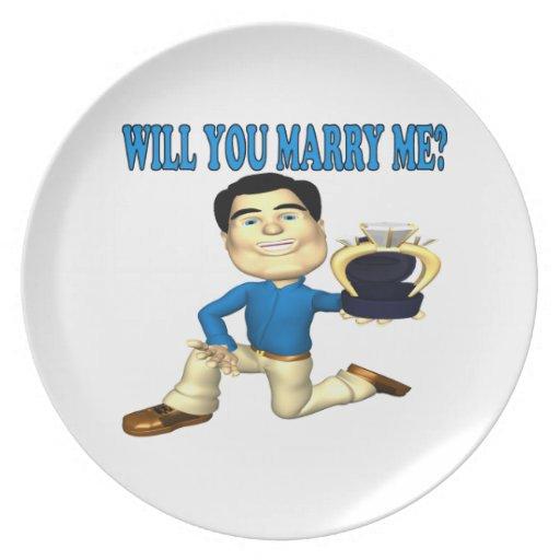 Usted me casará 3 plato de cena