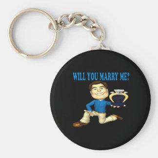 Usted me casará 4 llaveros