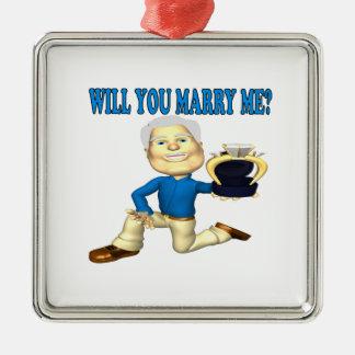Usted me casará 5 ornatos
