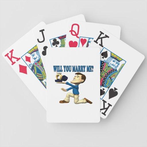 Usted me casará 8 cartas de juego