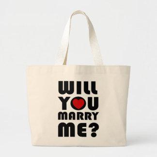 Usted me casará bolsa