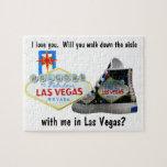 Usted me casará en Las Vegas Puzzle Con Fotos