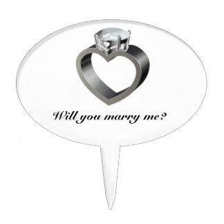 ¿Usted me casará? Figuras Para Tartas