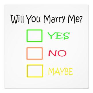 ¿Usted me casará? Fotografía