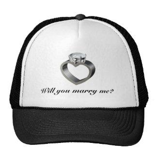 ¿Usted me casará? Gorros