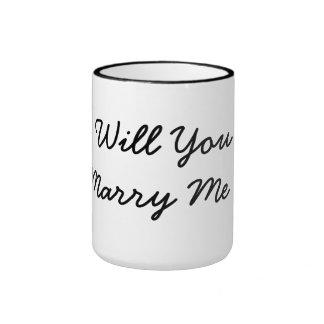 usted me casará oferta de la taza de la taza