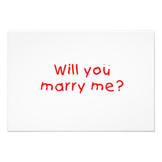 ¿Usted me casará? Pin de la almohada del imán de Fotos