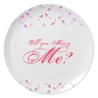 ¿Usted me casará? Platos