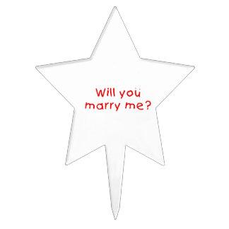 ¿Usted me casará? Primero de la torta de la Figuras De Tarta