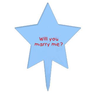 ¿Usted me casará? Primero de la torta de la Figuras Para Tartas