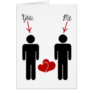 ¿Usted me casará? Tarjeta De Felicitación