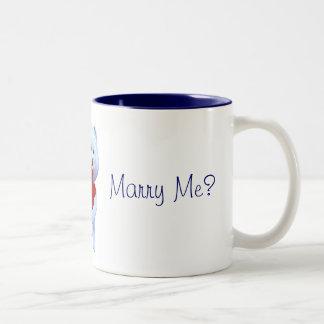 Usted me casará taza