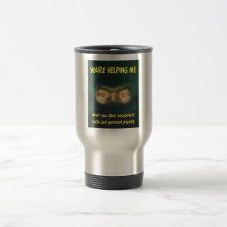 Usted me está ayudando -- WWII Taza De Café
