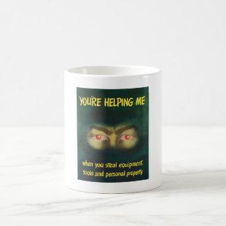 Usted me está ayudando -- WWII Tazas