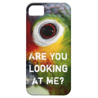 ¿USTED me está mirando? Caso divertido del iPhone  iPhone 5 Case-Mate Coberturas