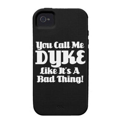 Usted me llama dique… Case-Mate iPhone 4 carcasas