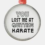 Usted me perdió en el abandono de karate ornamentos para reyes magos