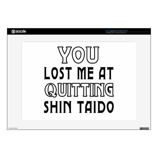 Usted me perdió en el abandono de los artes marcia calcomanía para portátil