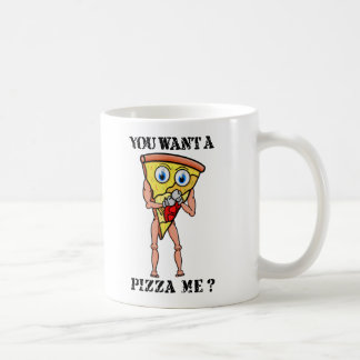 ¿Usted me quiere a la pizza? Taza De Café