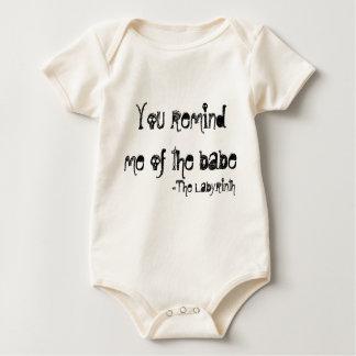 usted me recuerda el bebé mameluco