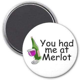 Usted me tenía en el Merlot Iman De Nevera