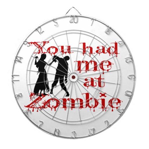 Usted me tenía en el zombi