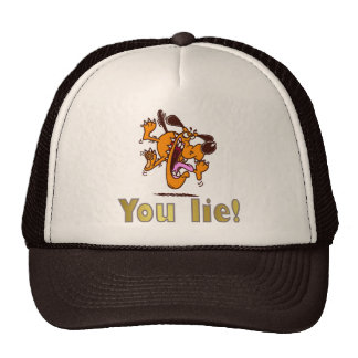 ¡Usted miente! Gorra
