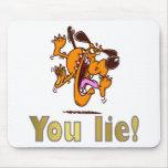 ¡Usted miente! Tapete De Ratones