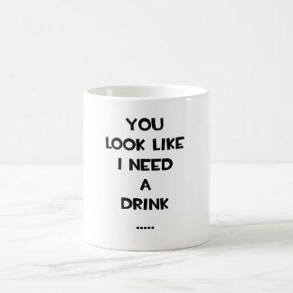 Usted mira como necesito un meme divertido de la c taza de café