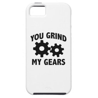 Usted muele mis engranajes iPhone 5 cárcasas