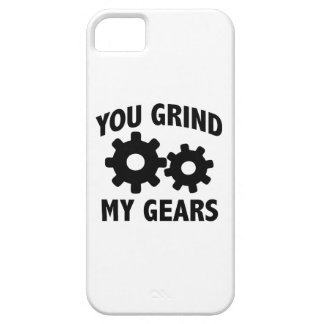 Usted muele mis engranajes iPhone 5 Case-Mate carcasas