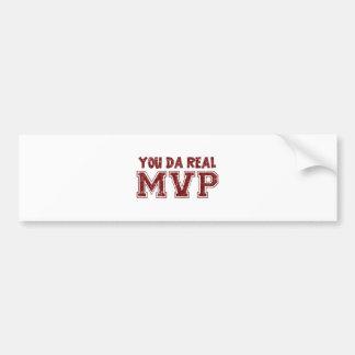 Usted MVP real de DA Pegatina Para Auto