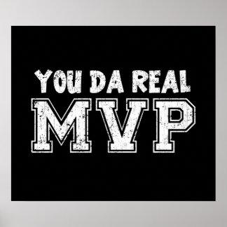Usted MVP real de DA Póster