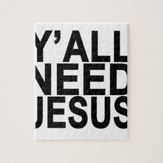 Usted necesita a Jesús T-Shirts.png Puzzle