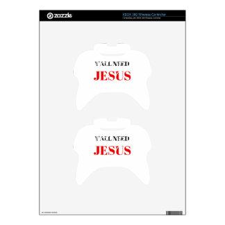 USTED NECESITA EL EJEMPLO DEL TEXTO DE JESÚS MANDO XBOX 360 CALCOMANÍA