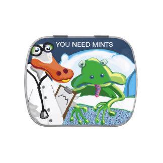Usted necesita las mentas - el doctor Duck ve el p Latas De Dulces