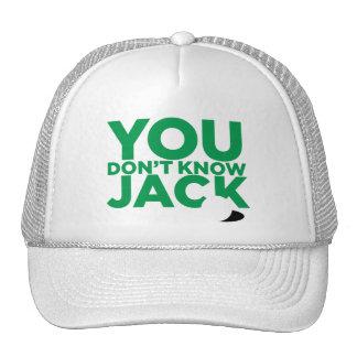 """""""Usted no conoce Jack """" Gorros Bordados"""