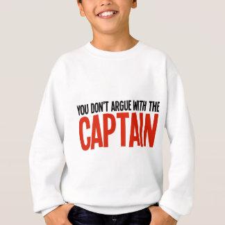 Usted no discute con el capitán polera