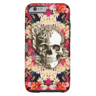 Usted no es aquí día del arte floral muerto funda de iPhone 6 tough