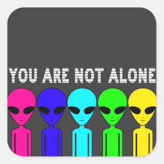 Usted no es pegatina solo