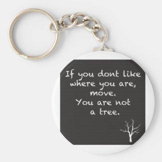 Usted no es un árbol llaveros