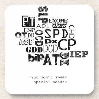¿Usted no habla necesidades especiales?
