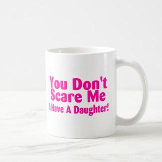 Usted no me asusta que tengo la hija taza de café