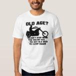 Usted no para el montar cuando usted consigue camisas