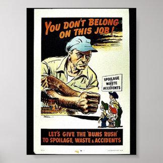Usted no pertenece en este trabajo poster