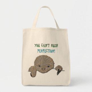 Usted no puede acometer pereza del bebé de la perf bolsas