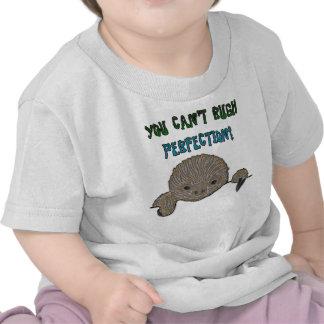 Usted no puede acometer pereza del bebé de la perf camisetas